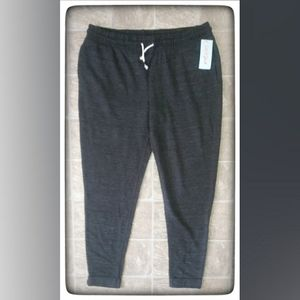 Cat & Jack Charcoal Joggers Sz XL NWT